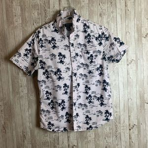 COPY - Forever 21 Lagoon Button Up